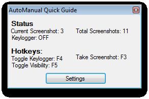 AutoManual - Quick guide