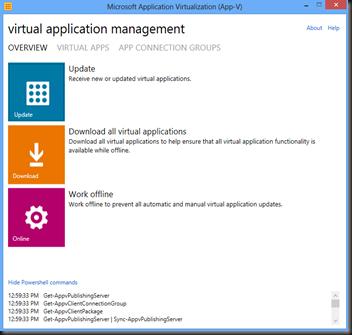 App-V 5.0 Client
